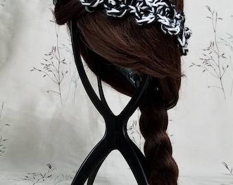 Zippy Zebra 'Wibbly Wobbly' Crochet Headband