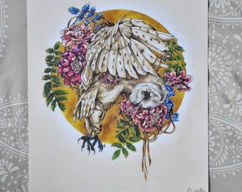 Haunted Wings (print)