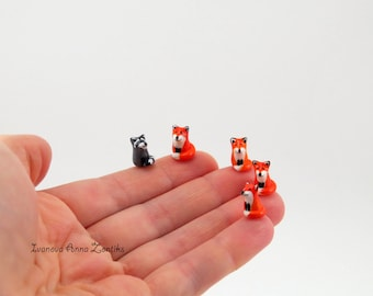 Micro  Animals, Raccoon, tiny Raccoon, micro rabbit, micro fox,  animals miniature, miniature Raccoon, micro Raccoon,  toy Raccoon