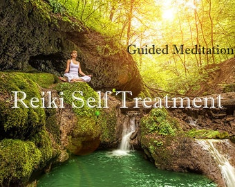 10 min. meditation to focus and guide you through a Reiki Self treatment