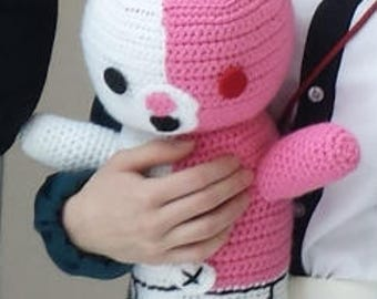 Dangan ronpa 2: Goodbye Despair Usami/Monomi Bunny Handmade Crocheted Doll