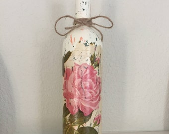 Shabby Chic Reclaimed Bottle