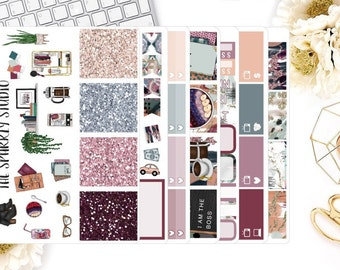 Boss Babe Weekly Kit / 200+ Planner Stickers