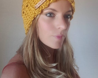 The Chunky Beanie in Dandelion or Teal