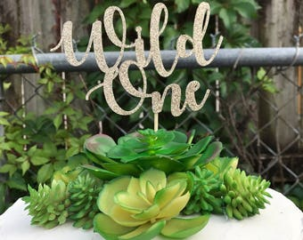 Wild One Cake Topper, Wild One Cake, Wild One Birthday, First Birthday