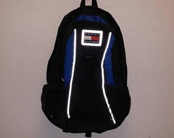 Tommy Hilfiger Patch Backpack Reflective Tommy Hilfiger Blue Bag