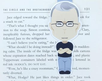 Stephen King - JUMBO magnetic bookmark || gift for book lovers | horror king | books | bookish | bookworm | page clips | magnetic bookmarks