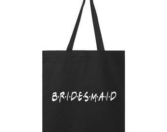 Tote bag // Friends TV Show // Bridesmaid Gift // Wedding Custom // Unique High Quality// High Quality