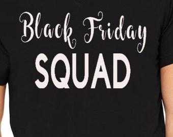 Black friday squad v neck