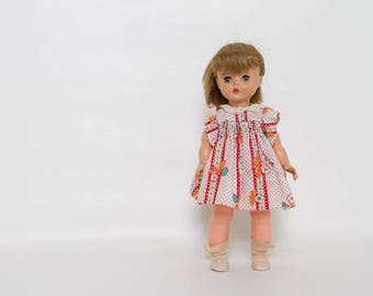 vintage 1950s Horsman doll with clothes