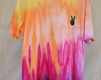 Adult Size 3XL - Ready To Ship - Unisex - Festival - Tie Dyed - T-shirt - 100% Cotton - FREE Shipping within Aus