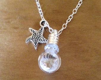 Beach Globe Necklace