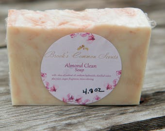 Almond Clean soap