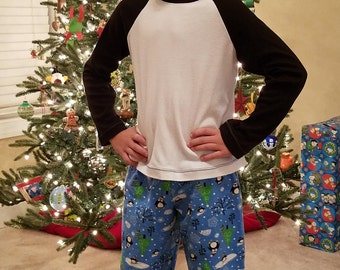 Size 8, Boy Lounge Wear, Free Shipping, Ready to Ship