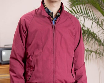 Vintage Jacket•Hipster Clothing•Retro Bomber Jacket•80s jacket•Men's vintage• Ivy Oxford blouson•Classic bomber jacket•Vintage sportswear