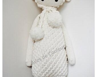 Lalylala Lamb, Amigurumi, crochet doll