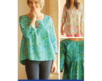 Indygo Junction Gathered Back Top and Tunic