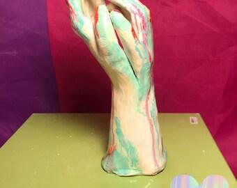 Paint Splatter Hands