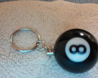 8-Ball Key Chain