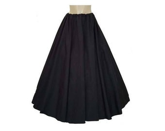 "FREE SHIPPING Medieval Renaissance Clothing Peasant Pirate Wench Civil War Skirt With HUGE 200""+ Circumference 11 Colors To Chose from"