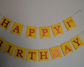 Happy number birthday