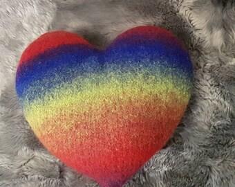 Cushion heart - pillow heart
