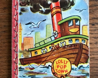 The Tugboat - Lolly Pop Town Shaped Story Books
