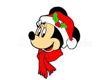 Minnie Christmas SVG