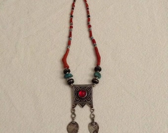 Berber necklace Morocco palm groves of Bani
