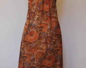 Bohemian Floral Tapestry Maxi Dress