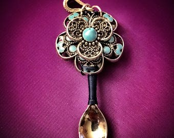 Flower Spoon Necklace