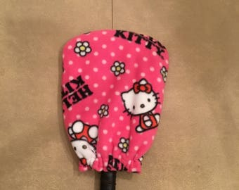 Fleece Hello Kitty Pickleball Paddle Cover