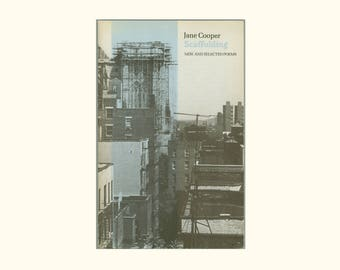 Scaffolding New and Selected Poems by Jane Cooper, Anvil Press 1985 Second Printing Vintage Poetry Book