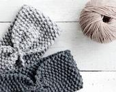 Hand Knit Headband, Custom Ear Warmer, Womens Turban, Wool Headband, Handknitted Turband, Warm Winter Turban, Handmade Headband