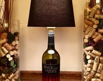 Once Upon A Vine, Wine Bottle Lamp (750ml Bottle)