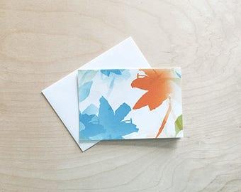 Blank Note Card Set, Note Card Set, Blank Note Cards, Blank Card Set, blank occasion cards, Stationery Set, flower stationery note cards