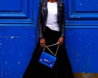 Gavi Shoulder Bag in Royal Blue