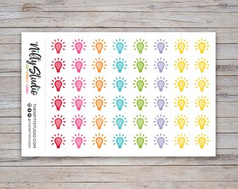 Idea Stickers | Planner Stickers | The Nifty Studio [134]