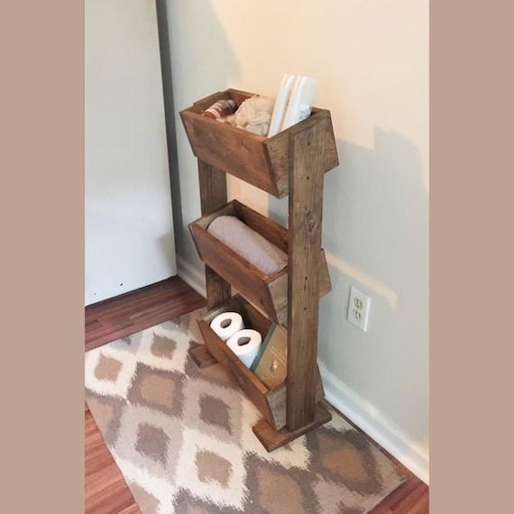 Like this item. Ladder shelf Bathroom shelf farmhouse decor home