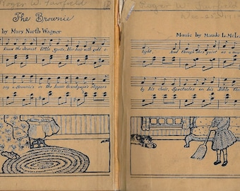 vintage brownies sheet music page download