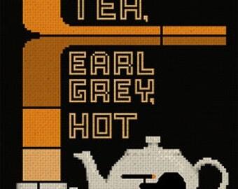 Earl Grey Tea Pattern