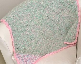Crochet Blanket   Crochet Rug   Baby Blanket   Pram Blanket   Bassinet Blanket   Cot Blanket   Stroller Blanket