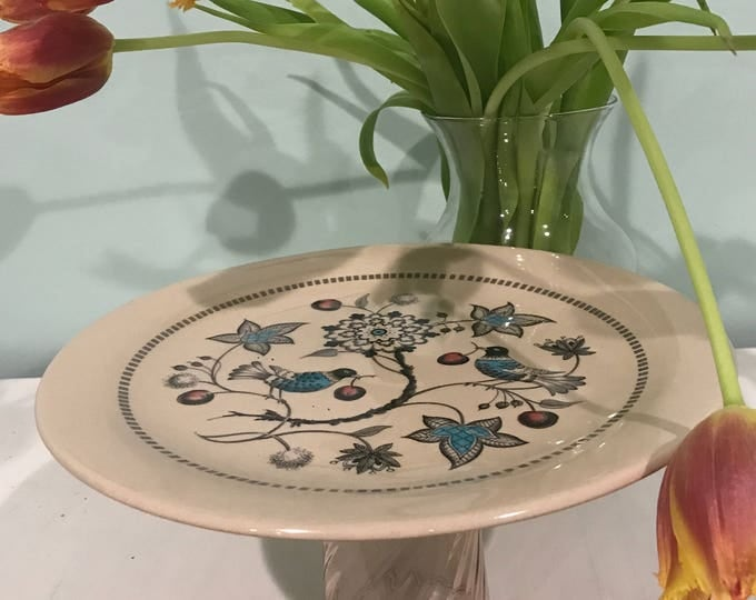 LIVEstyle Limited Edition Floral Birds Cake Stand