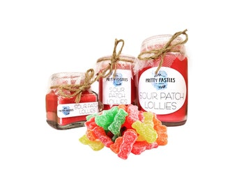 Sour Patch Lollies Scented Soy Candle