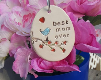 My favorite little Plant Marker - best mom ever, garden decor, plant stake, Mother's Day Gift, Valentine, garden decor