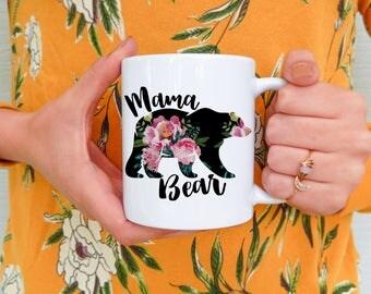 Mama Bear | Mama Bear Mug, Mama Bear Gift, Mama Bear Mugs, Mama Bears, Mom Mug, Mugs for Mom, Mother's Day Mug, Gifts for Mom, Mama Mug