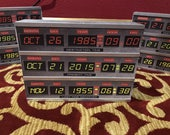 Time Circuits Box from Back To The Future with backlight