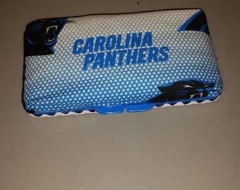 Carolina Panthers Baby Wipe Case