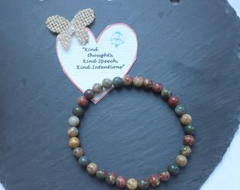 Gemstone Bracelet/Gift/Reiki Bracelet/Yoga Bracelet/Chakra Jewellery/Healing Bracelet/Crystal Bracelet/Handmade Jewellery/Energy Bracelet