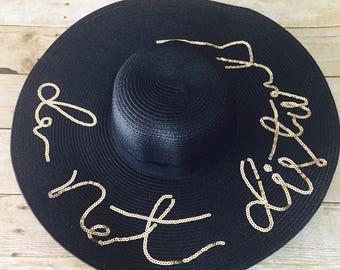 Summer Hat Beach Hat Do Not Disturb